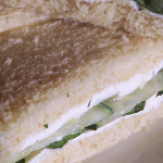 Cucumber, Basil, and Goat Cheese Sandwich