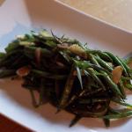 French Cut Green Beans with Tarragon Garlic and Balsamic Vinegar