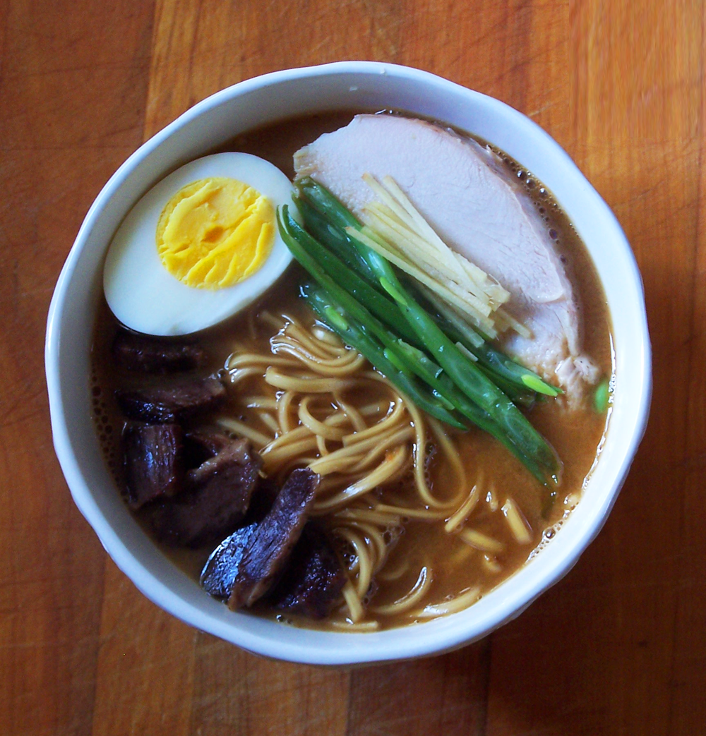 Ramen with Turkey Dashi - Epicure's Table