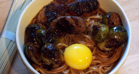 Ramen with Duck Dashi