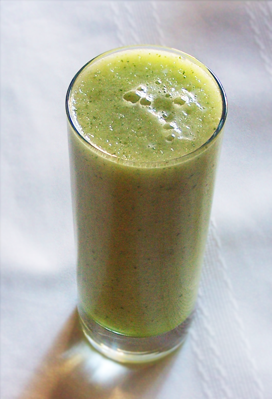 Honeydew Cucumber Mint and Ginger Smoothie - Epicure's Table