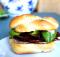 Turkey Bacon and Basil Butty on a Homemade Kaiser Roll