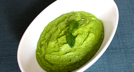 Pea and Mint Purée