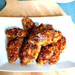Sesame Chicken Buffalo Wings