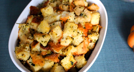 Bread Stuffing with Homemade Bread