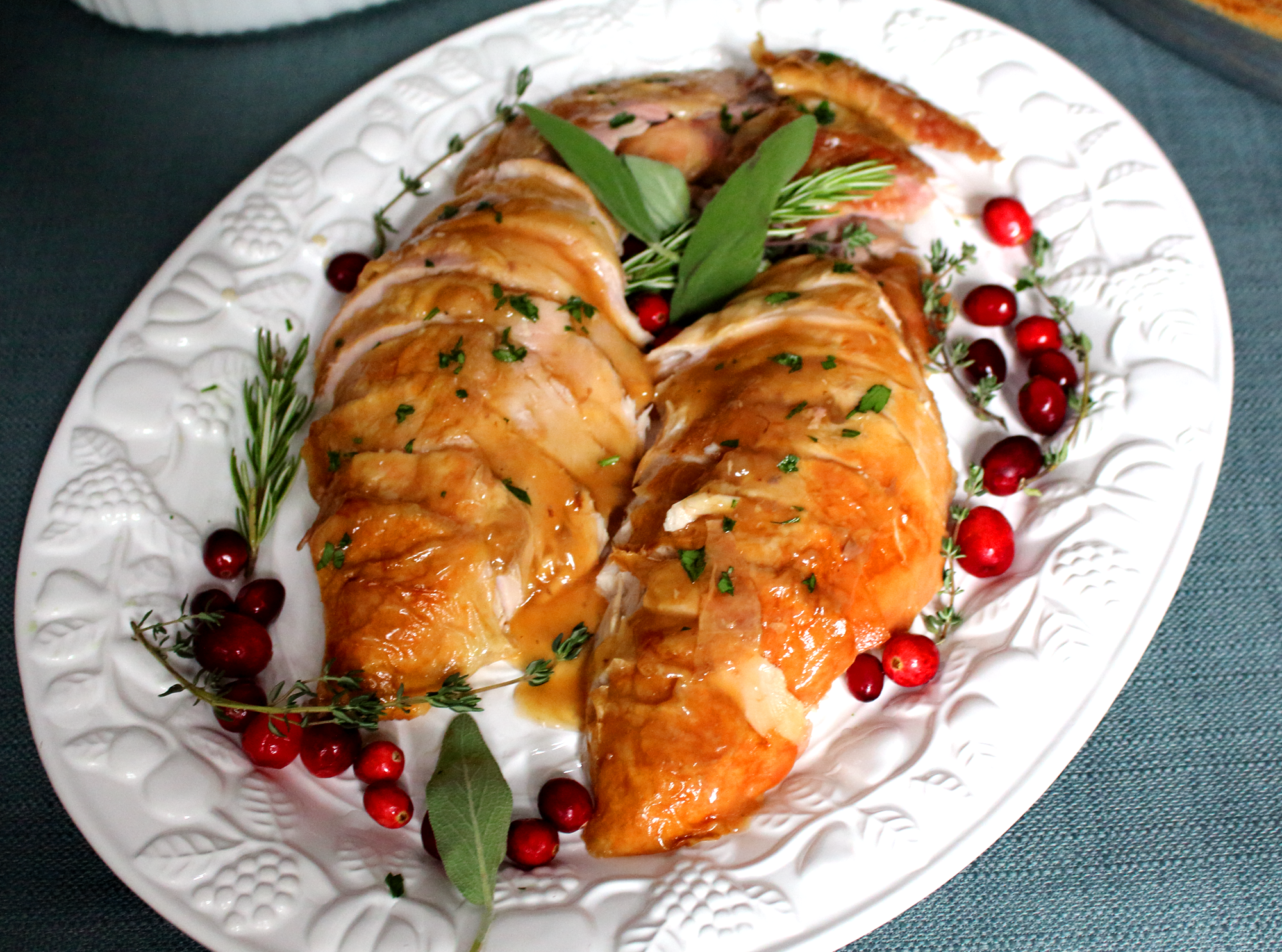 Brined Roast Turkey - Epicure's Table