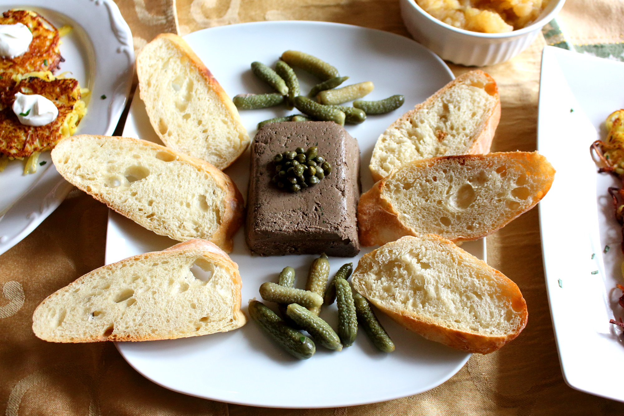Herbed Chicken Liver Pâté