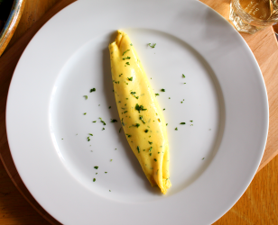 Parsley and Parmesan Omelette
