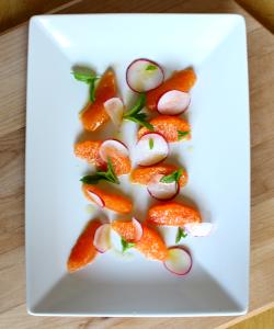 Orange Radish and Mint Salad