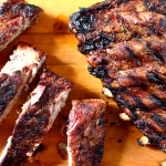 Garlic Rosemary Balamsic and Honey Barbecued Ribs