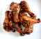 Hickory Smoked Chicken Legs with a Garlic Balsamic Glaze