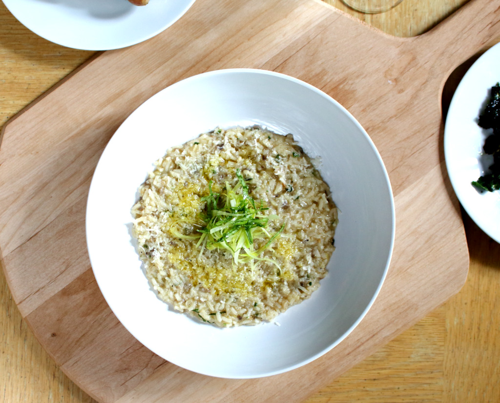 Leek and Mushroom Risotto - Epicure's Table