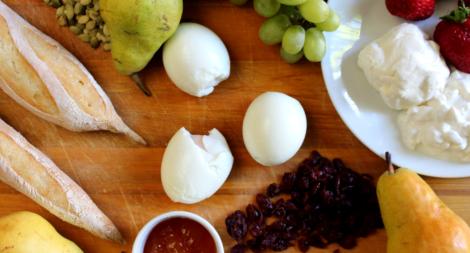 Soft Boiled Egg Breakfast Board