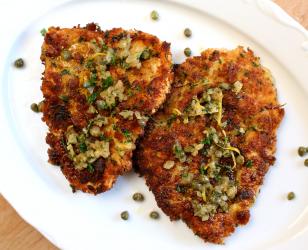 Breaded Chicken Scaloppini