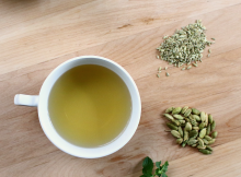 Fennel Mint and Cardamom Tea