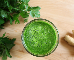 Parsley Ginger Juice