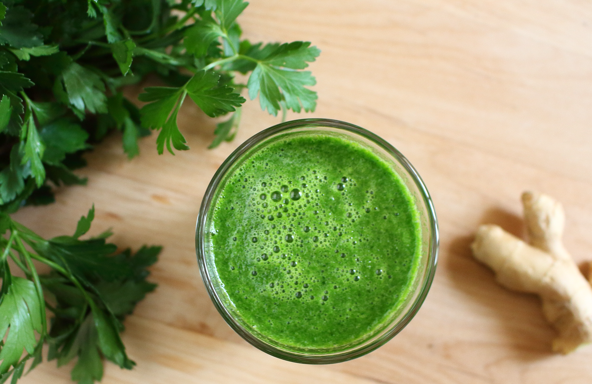 parsley ginger juice epicure s table